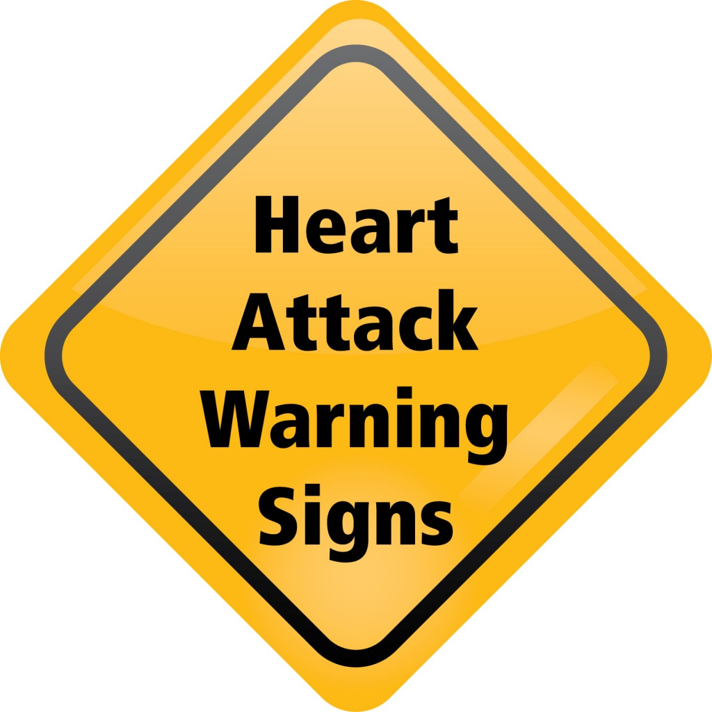 Most common warning signs of a heart attack